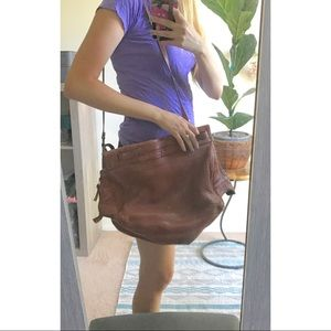 Jerome Dreyfuss Carlos Brown Bag Purse